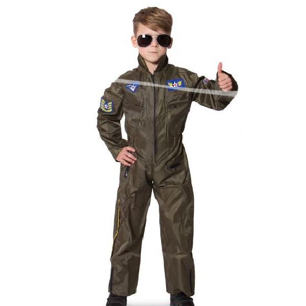 "Kinder Kostüm  ""Der Pilot""  Gr.: 98 - 116 / 3 - 5 Jahre"