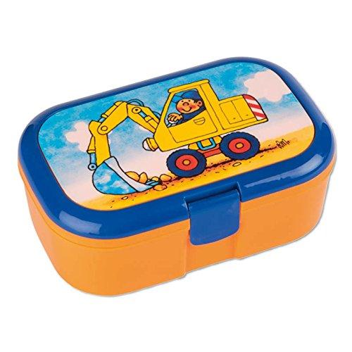 Brotzeitbox Lunchbox Bagger von Lutz Mauder