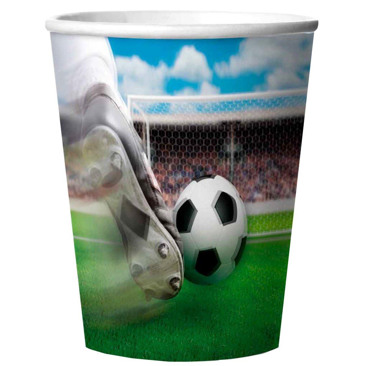 "Fußball ""Das Spielfeld! Party Becher 3 D Effekt"