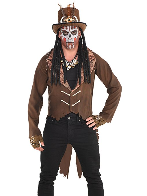"Herren Kostüm der Hexendoktor ""Der Frack"" Gr.: 44 - 46"