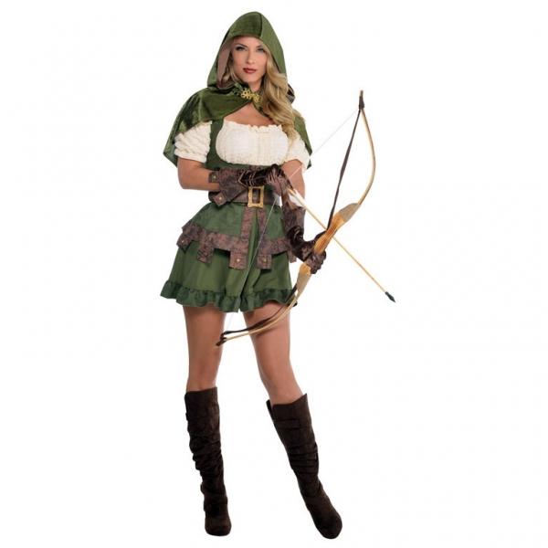 """Damen Kostüm Robin Hood """"Die Königin der Diebe"""" Gr.: 34 - 36 S"""