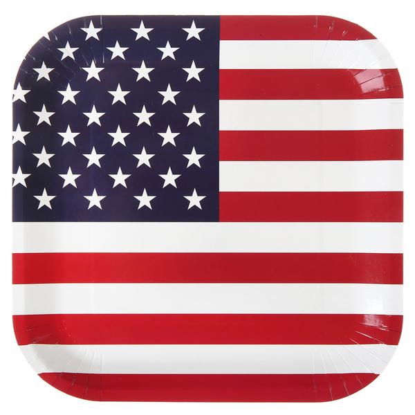 Amerika Party Teller Santex