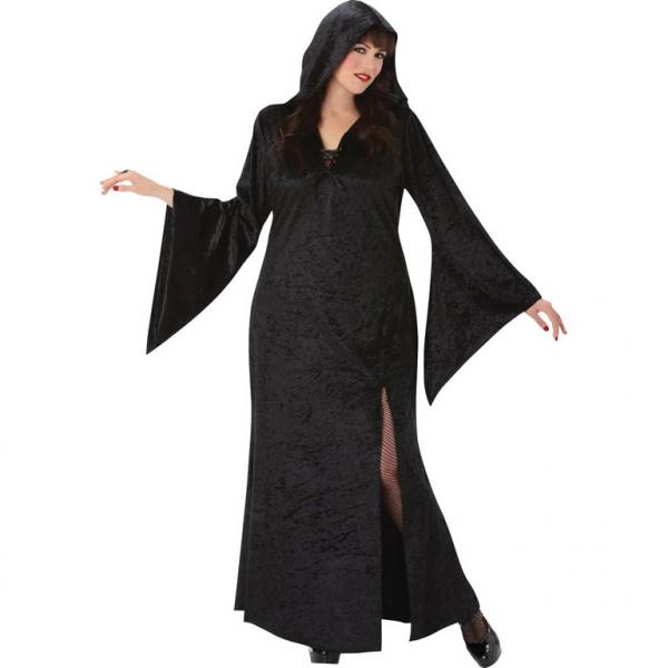 "Damen Kostüm ""Die Magierin, die Hexe, Vampir Lady"" Gr.: 44 - 46 XXL"