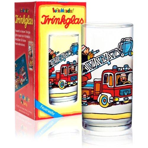 Benny Brandmeister Trinkglas Feuerwehr