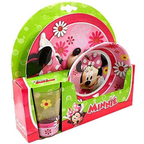 Geschirr- Frühstücksset Minnie Mouse Disney