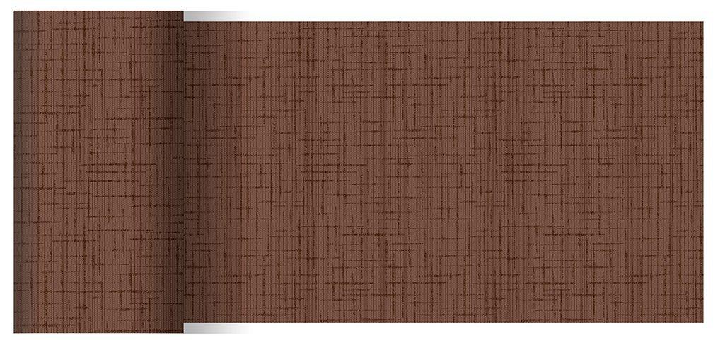 Duni Tischbänder Linnea chestnut 0,15 x 20,00 m