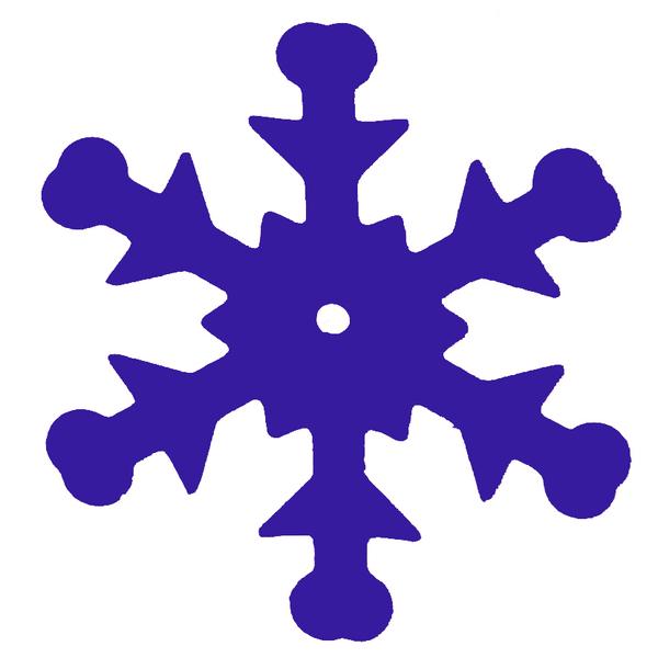 Tisch Konfetti Schneeflocken blau 20 gr.