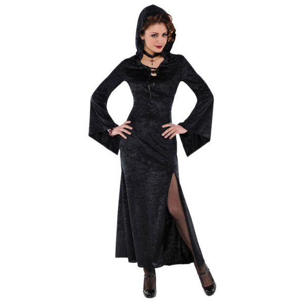 Damen Kostüm die Magierin ... Hexe oder Vampir Lady Gr.: 40 - 42 L