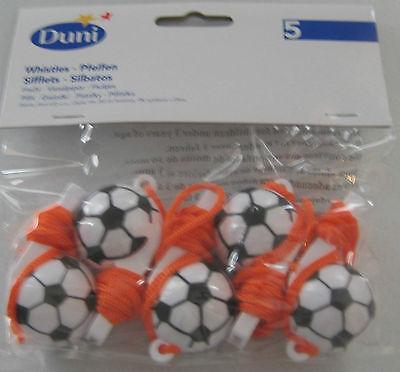 Fußballpfeifen / Trillerpfeife Football Star von Duni