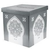 Geldbox Briefbox orientalisch silber
