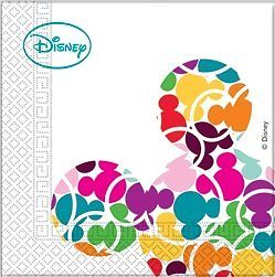 Disney Party Servietten Mickey Mouse Colourful