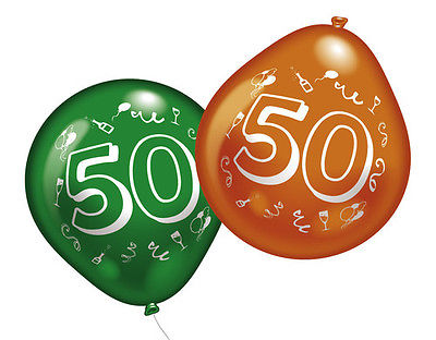 50. Geburtstag Party Luftballons