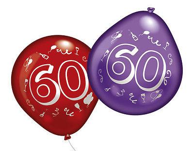 60. Geburtstag Party Luftballons
