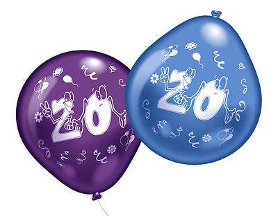 20. Geburtstag Party Luftballons