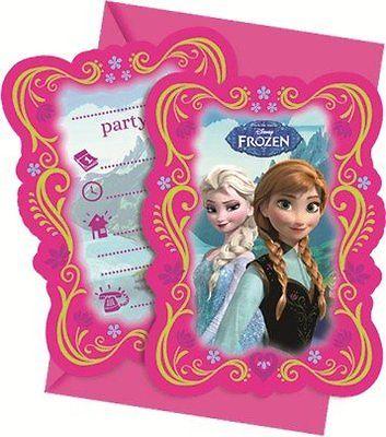 Disney Frozen Die Eiskönigin Alpenland Party Einladungen