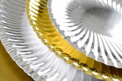 Vorlege- Party Teller Gold 30 cm im Durchm.