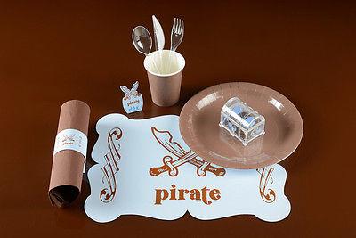 blau wie das Meer Piraten Party Tischsets