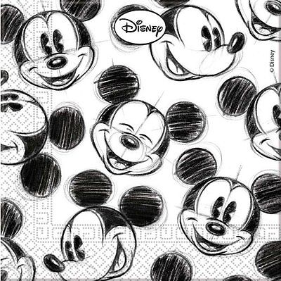 Disney Mickey Mouse Party Face Servietten