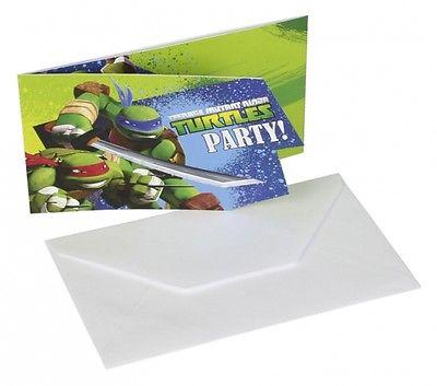 Ninja Turtles Einladungen