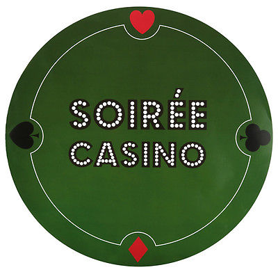 Tischset Platzset Casino von Santex