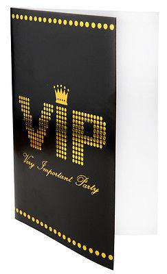 Einladungskarten Very Importent Persons VIP