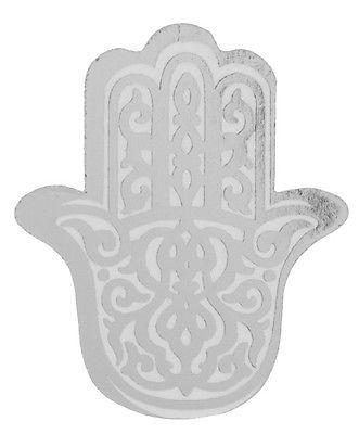 6 Klammern Fatimas Hand orientalisch silber