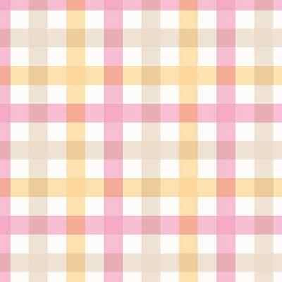 50 Duni Dunilin Motiv Servietten Check Pink 40 x 40 cm