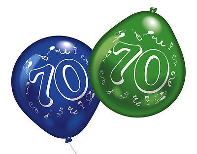 70. Geburtstag Party Luftballons