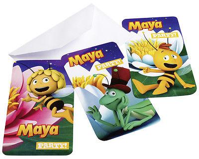Biene Maja Einladungskarten